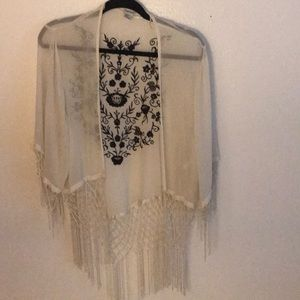 Sheer cardigan/cover up